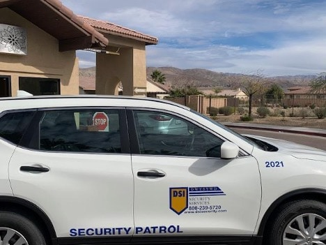 DSI HOA Security Patrol Car